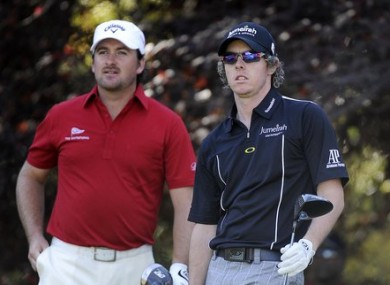 McDowell and Mcilroy: Contrasting fortunes