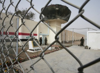 Abu Ghraib prison in Iraq, where CACI UK's American parent company provided interrogation services from 2003 to 2005