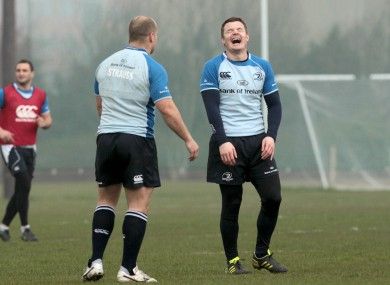 Brian O'Driscoll either really enjoyed training today or he read our laughable gambling column on Friday.