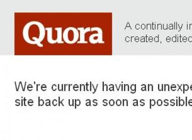 Amazon cloud computing outage hits Reddit, FourSquare, Quora