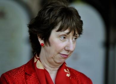 European Union foreign policy chief Catherine Ashton.