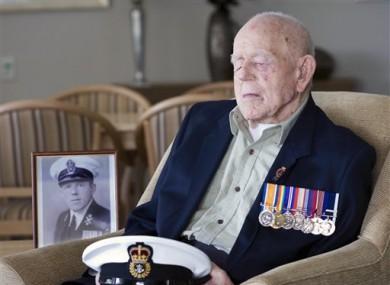 World War I Navy Veteran Claude Choules on 11 September 2009 .