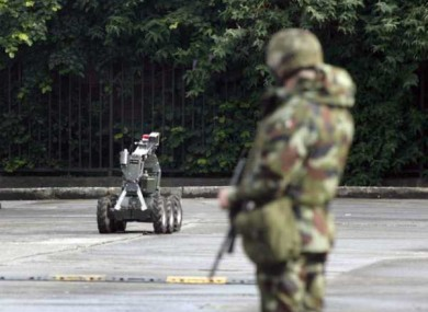Gardaí believe a car bomb hoax was planned for the Queen's visit to Kildare (File photo)