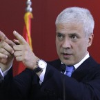 Serbia's president Boris Tadic announced that Mladic has been arrested