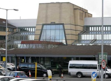 The woman was treated at Tallaght Hospital.
