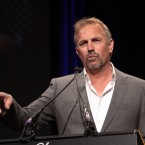 If you write it, he will come....Kevin Costner's made some decent films, but he's also won the Golden Raspberry for Worst Actor three times, for Robin Hood, Wyatt Earp and The Postman. Pic: Benkey/UK Press/Press Association Images