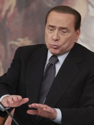 Italian premier Silvio Berlusconi.