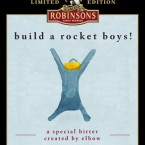 Elbow's Build a Rocket Boys ale is a limited edition 4.0 per cent beer, which will be available in a casket only. Pic: Fiction Records