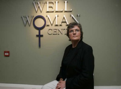 Dr. Shirley McQuade, Medical Director of the Dublin Well Woman Centre
