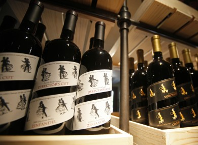 Francis Ford Coppola's Director's Cut wine on sale in his winery in California