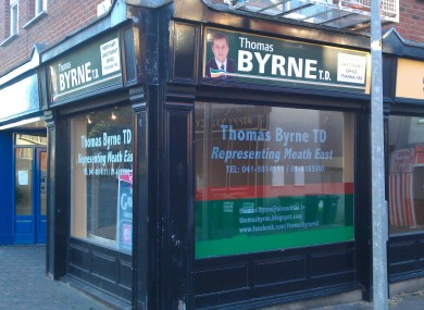 The former office of Thomas Byrne in Duleek today.