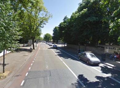 Merrion Road in Dublin