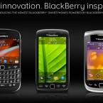 L to R: BlackBerry Bold, BlackBerry Torch 9850/9860, BlackBerry Torch 9810. Image: http://us.blackberry.com/