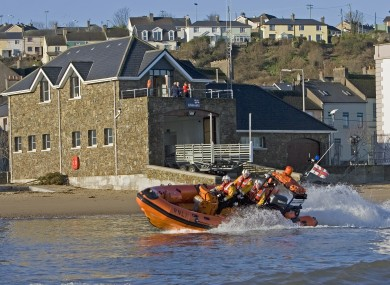 File photo of Youghal lifeboat, which rescued the men
