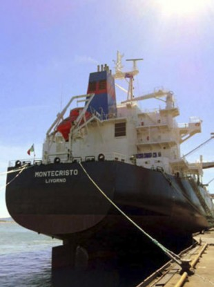The Montecristo Italian cargo ship
