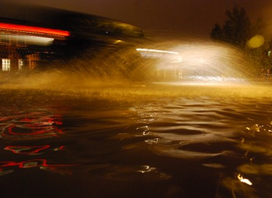 Images from the flooding tonight
