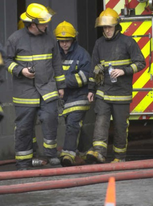 File photo of firefighters.