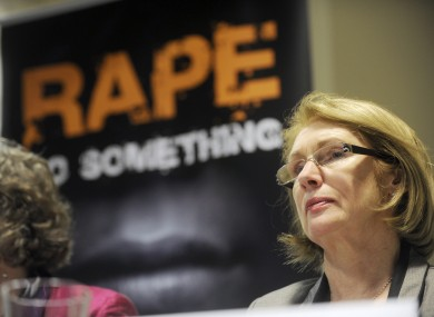 Minister of State and member of the board at the Rape Crisis Centre, Jan O'Sullivan pictured at the launch of the annual report today
