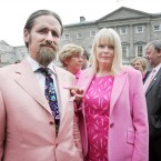 Exchanges in the Dáil have often been colourful but after Mick Wallace was caught on mic calling Mary Mitchell-O'Connor 'Miss Piggy' with Shane Ross and Luke Flanagan in on the chat, apologies had to be forthcoming. Pic: Leon Farrell/Photocall Ireland