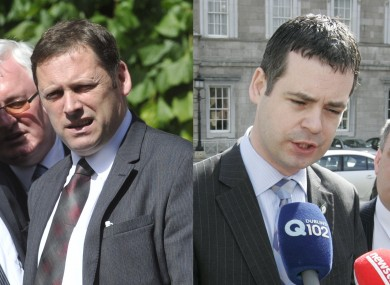 Barry Cowen and Pearse Doherty have both criticised the government's handling of the pensions row.