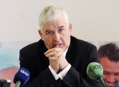 Cathal Magee will answer questions from TDs and senators