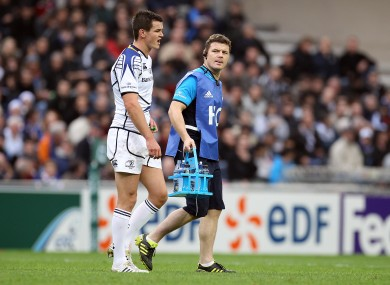 O'Driscoll's days as a waterboy could be numbered.