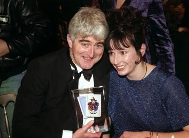 WATCH: Dermot Morgan jokes about Bertie Ahern… in 1994