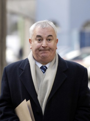 GV Wright arriving at the Mahon Tribunal in 2006
