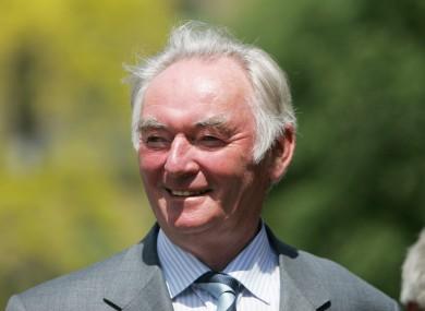 File photo of Pádraig Flynn.