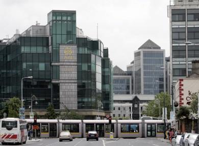 The IFSC in Dublin's city centre