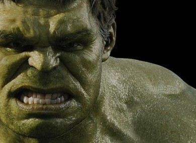 Fan draws skull and anatomy of the Hulk in detail