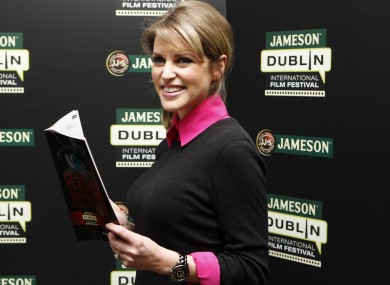 Amy Huberman at a film festival launch in February.
