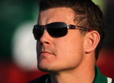 Ireland's captain and talisman - Brian O'Driscoll.
