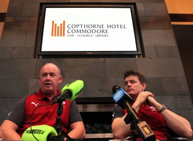 Declan Kidney and Brian O'Driscoll answered your questions in Christchurch last Thursday.