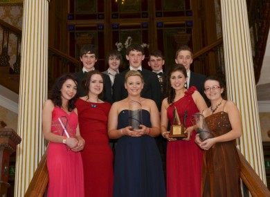 Finalists at this year's No Name Club National Youth Awards