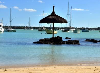 Grand Bay in Mauritius.