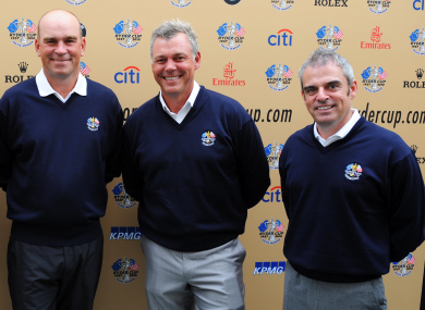 Bjorn, Clarke and McGinley (pictured in 2010).