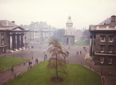 Trinity College Dublin in 1988
