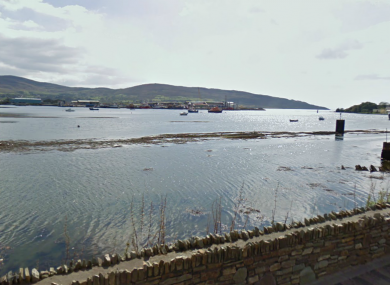 File photo of Castletownbere in Co Cork, where a retired schoolteacher drowned while out fishing yesterday.