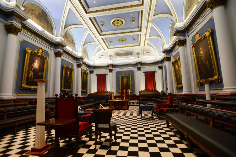PHOTOS: Somewhere you don't often get to see: The Freemasons