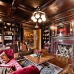 Yep, a definite emphasis on wood panelling... (Estate agent: sothebysrealty.ca)