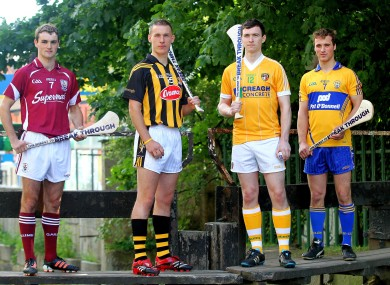 Johnny Coen, Cillian Buckley, Conor McCann, and Patrick O'Connor.