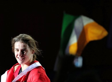 Katie Taylor's fight is due to get underway at 2pm.