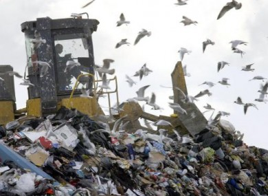 File photo of a landfill site.
