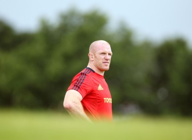 Paul O'Connell has captained Munster for six years.