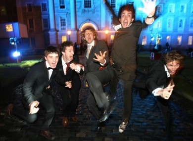 Students enjoying to Trinity College Ball (File)