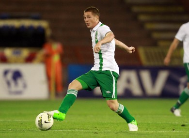 James McCarthy will be handed his first senior competitive start this evening.