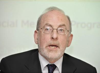 Irish Central Bank Governor, Patrick Honohan