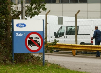 The Ford factory in Southampton today.