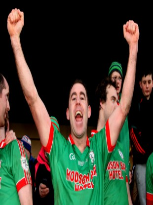 St Brigid's Frankie Dolan has celebrated Connacht club glory for the past two years.